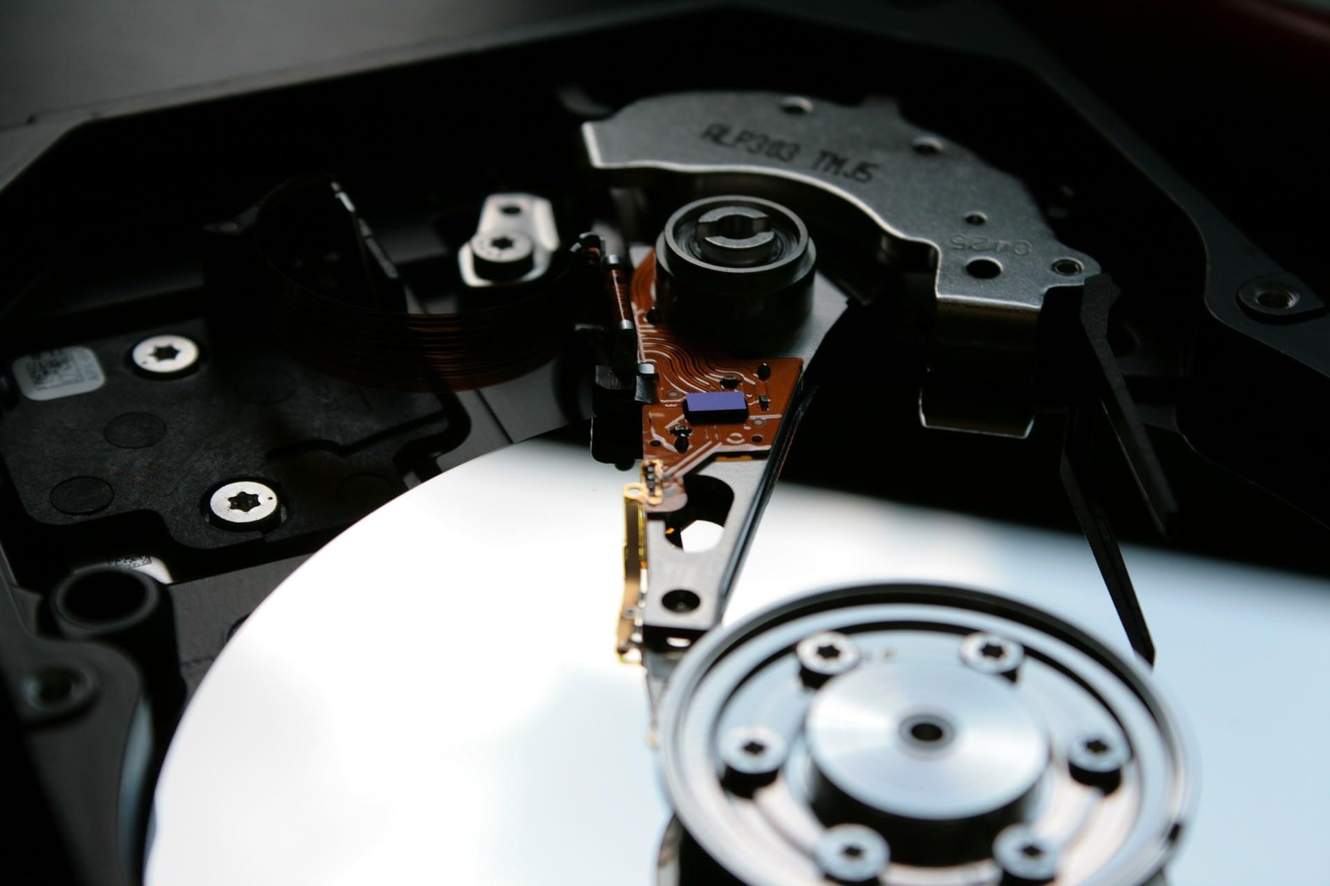 harde schijf van een computer