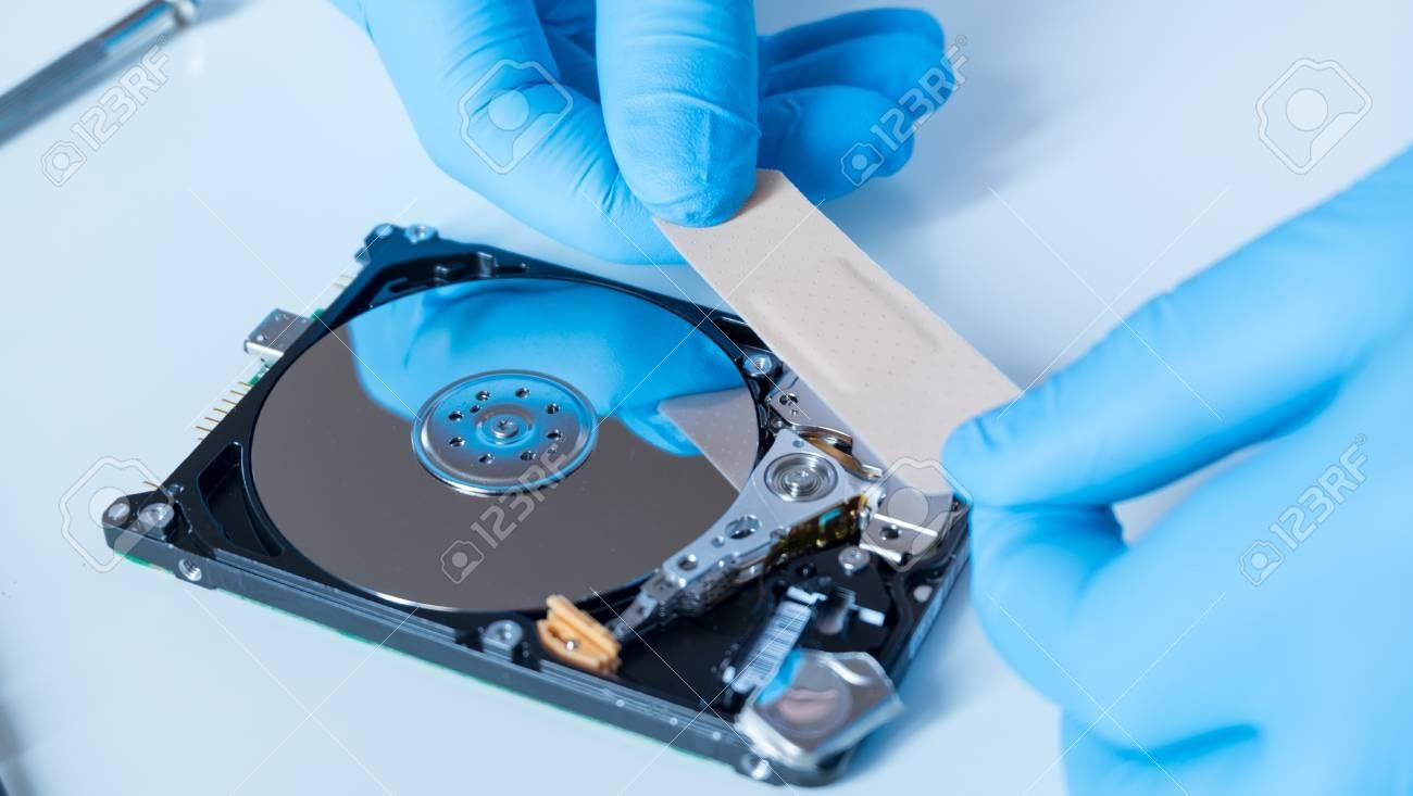 Defecte harde schijf herstellen om data te recoveren