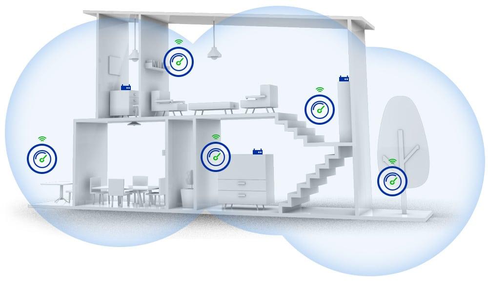 WiFi optimaliseren in een woonruimte